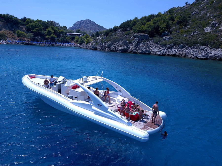 Full day private cruise from Rhodes
