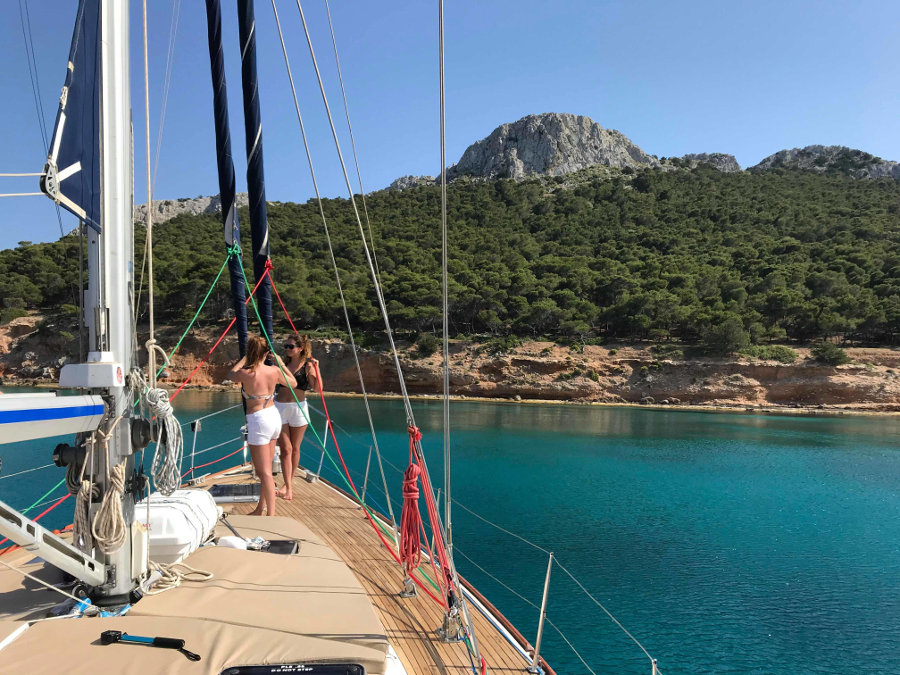 Athenian Riviera half day morning sailing