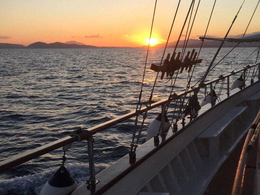 Athenian Riviera half day sunset sailing
